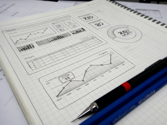 Sketch for UI by Budi Tanrim